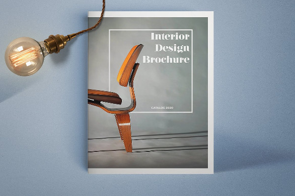 Beautiful Interior Design Brochure