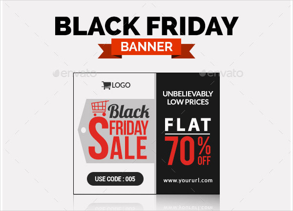 Black Friday Business Banners