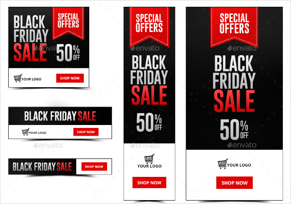Black Friday Gift Banners