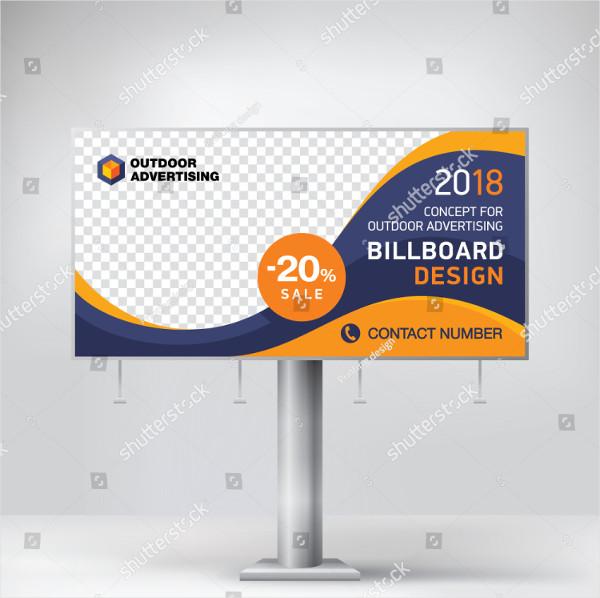 Blank Corporate Billboard Design