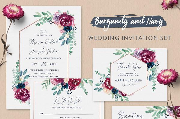 Best & Creative Invitations Set