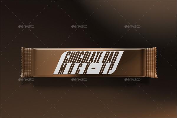 Popular Chocolate Bar Mock-Up
