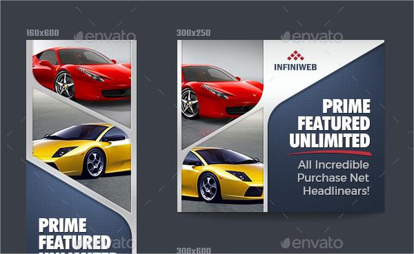 Car Technology Banner Ads