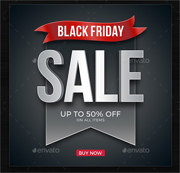 Cool Black Friday Banners PSD