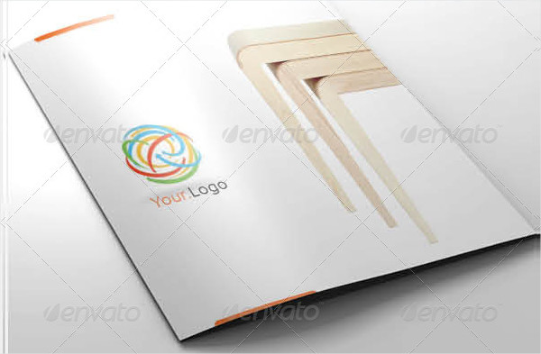 Clean Furniture Brochure Template