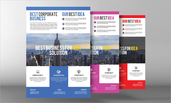 Modern Contractor Flyer Templates