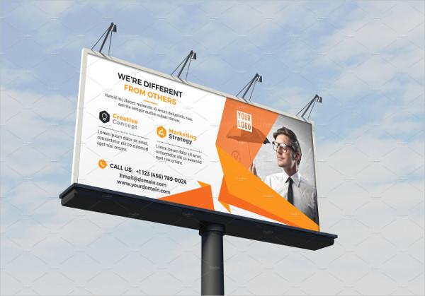 Cool Corporate Business Billboard Template