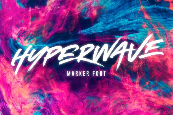 Cool Marker Font