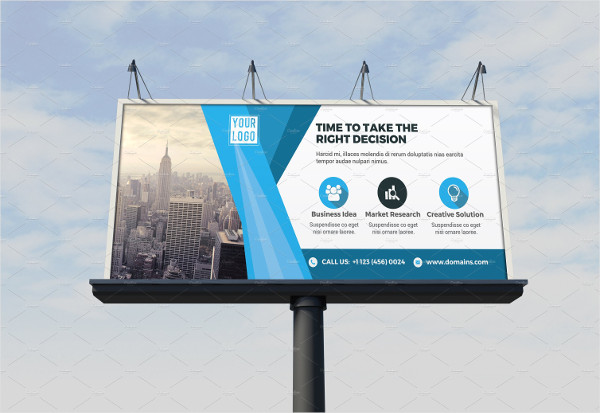 Corporate Billboard Design Template