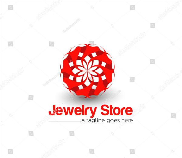 Corporate Jewelry Store Vector Logo Design