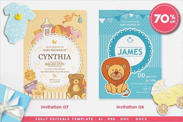 Creative Baby Shower Invitations