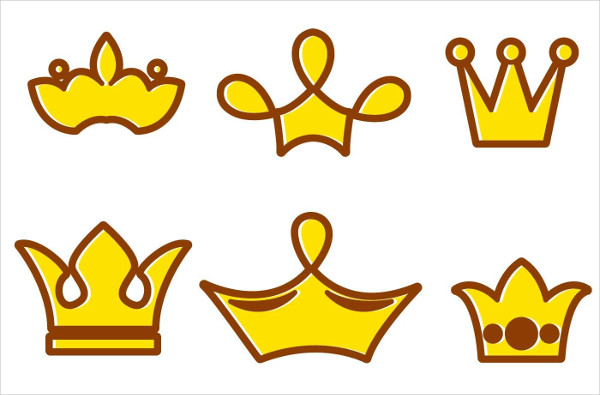 Crown Cartoon Logos Free