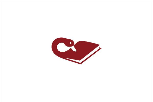 Custom Swan Book Logo
