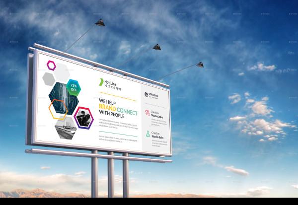 Customizable Corporate Billboard Template