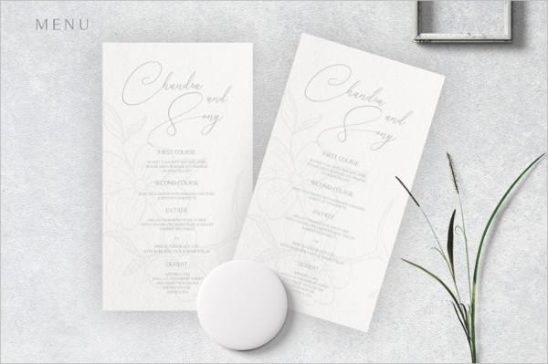 Elegant Craft Wedding Invitation Design