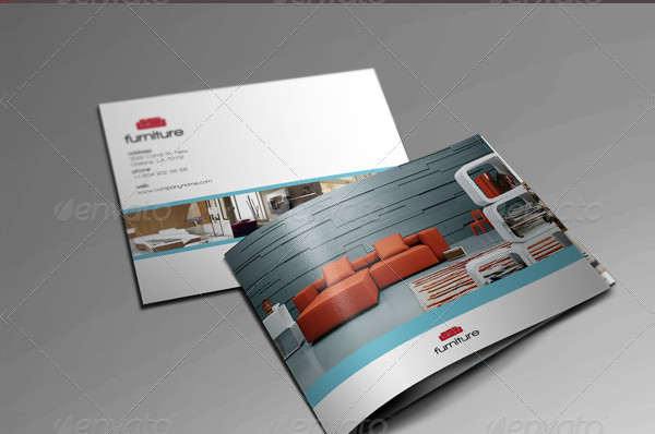 Elegant Furniture Brochure Design