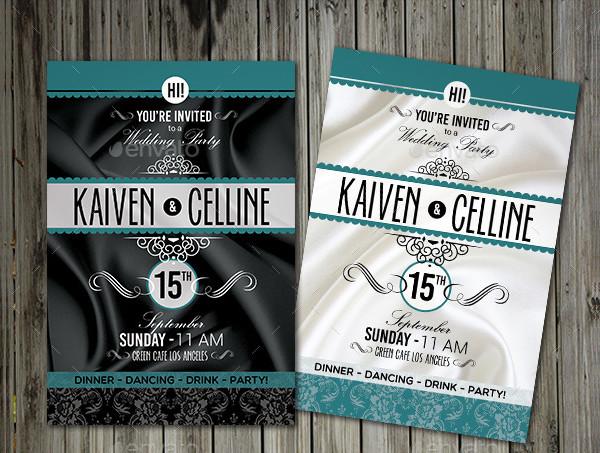Printable Elegant Invitation Design