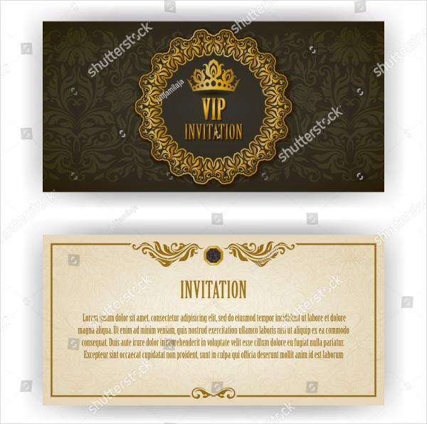 Elegant Template Luxury Invitation Card
