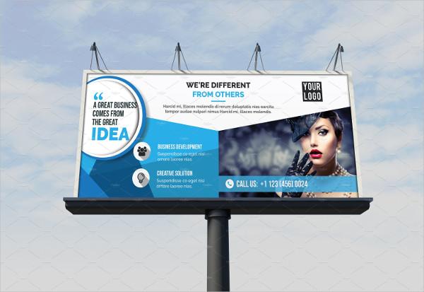 Fashion Billboard Template