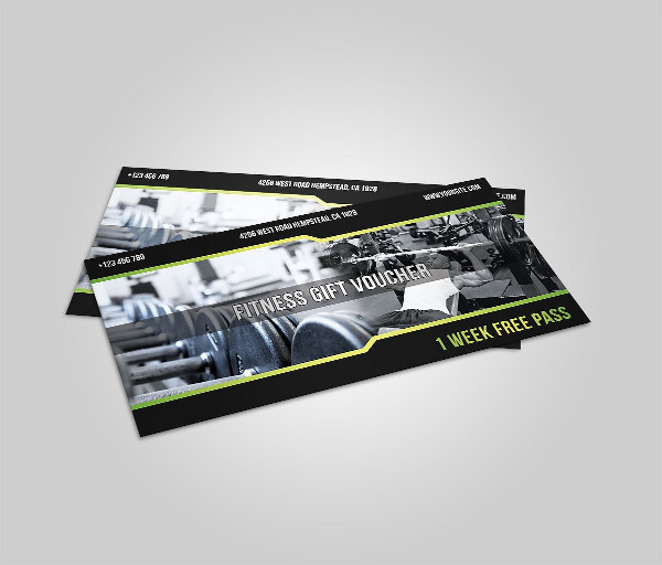 Fitness Center Template
