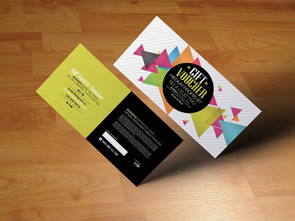 Multi Use Business Gift Card & Voucher