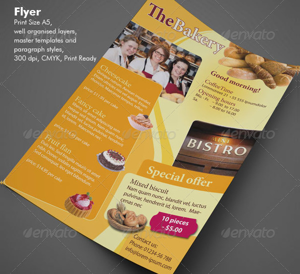 Flexible Advertising Flyer Design