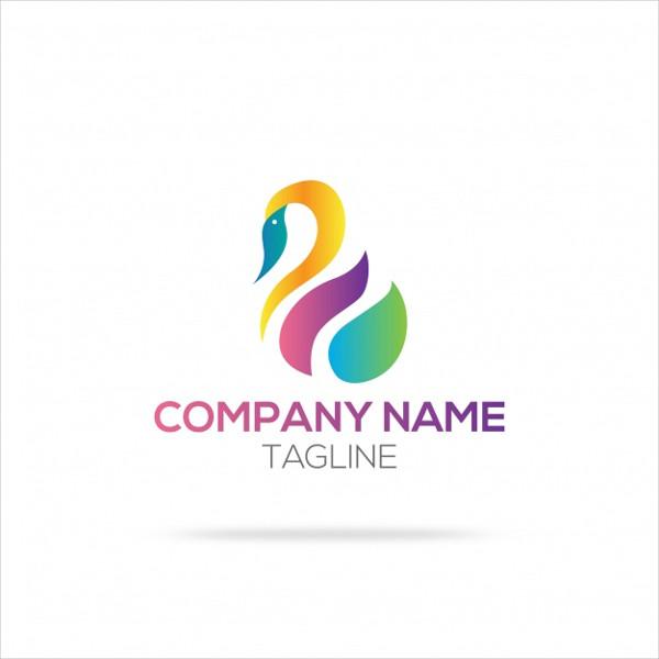 Free Download Swan Logo Design