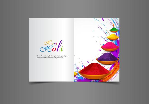 Free Happy Holi Greeting Card Download