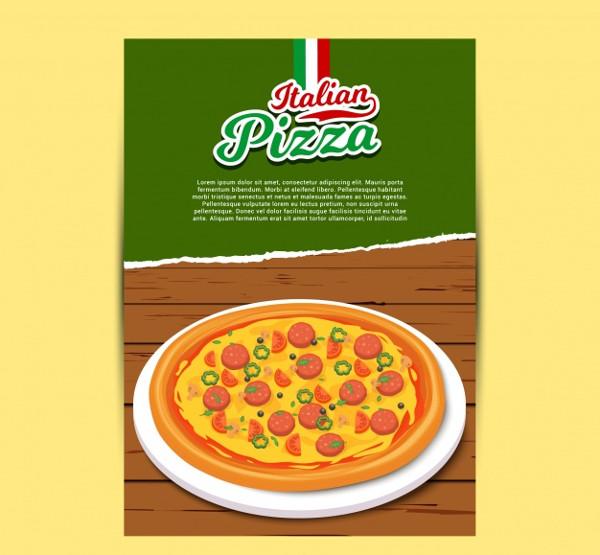 Free Italian Pizza Menu Download
