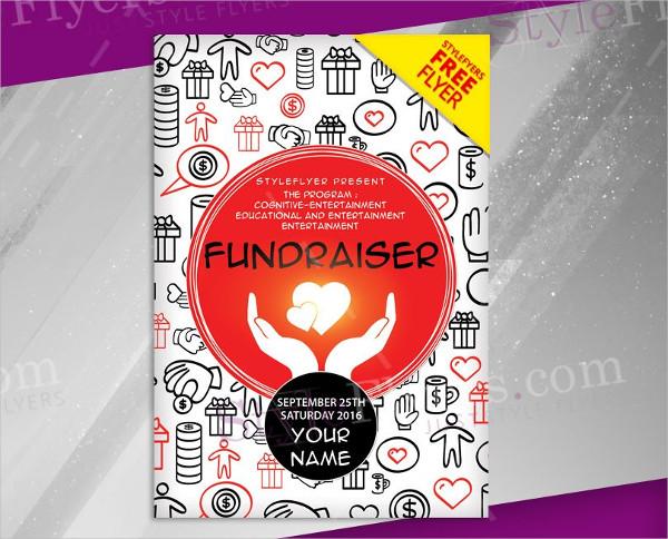 Fundraiser Free PSD Flyer Template