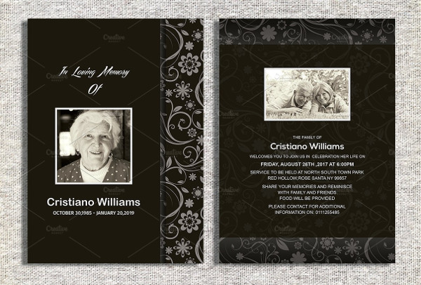 Funeral Invitation Wording
