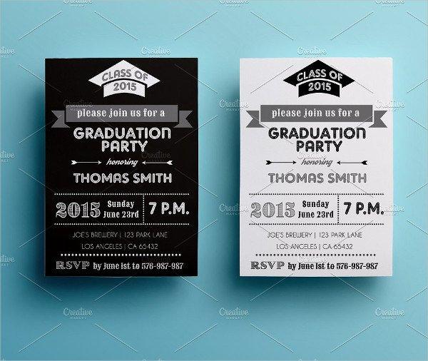Graduation College Party Invitation