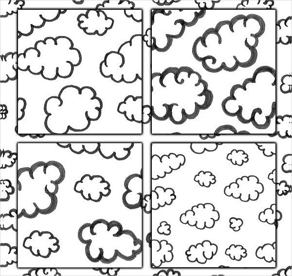 Handdrawn Cloud Design Patterns