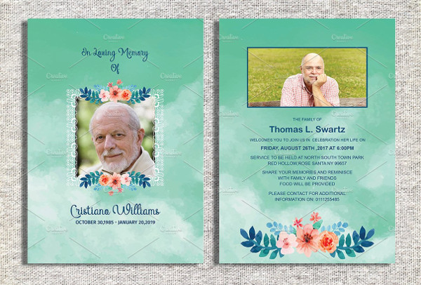 Invitation To Funeral Sample