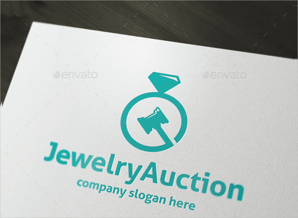 Jewelry Auction Logo Design