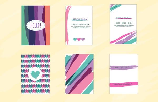Love Invitation Card Template Free
