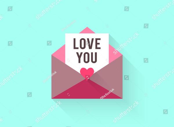 Love Vintage greeting Card