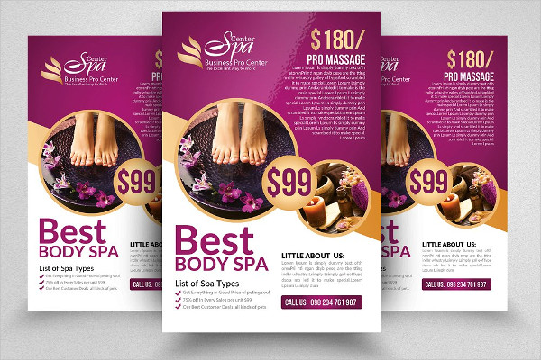 Luxury Beauty Spa Flyer