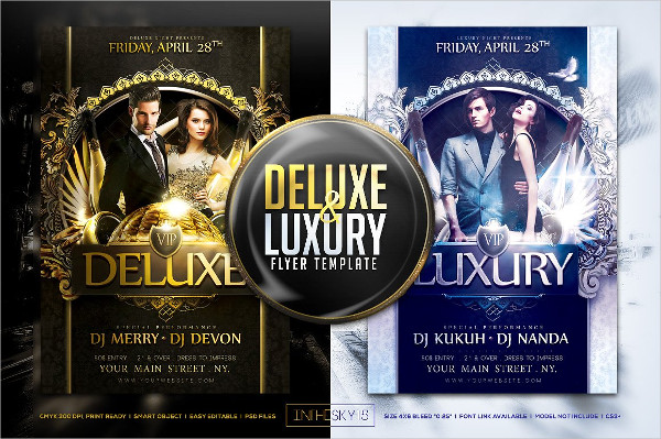 Deluxe & Luxury Flyer Template