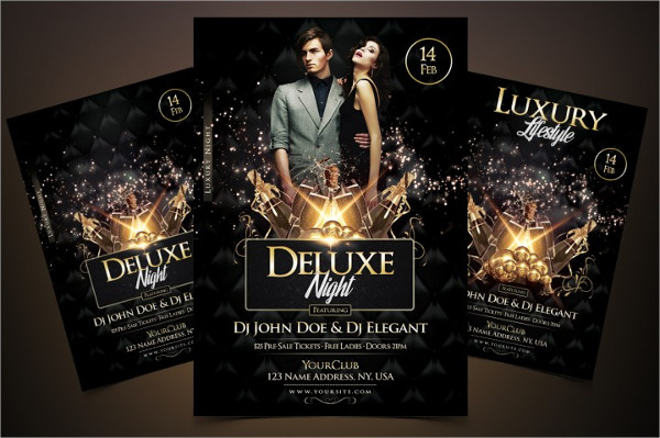 Popular Luxury Flyer Design