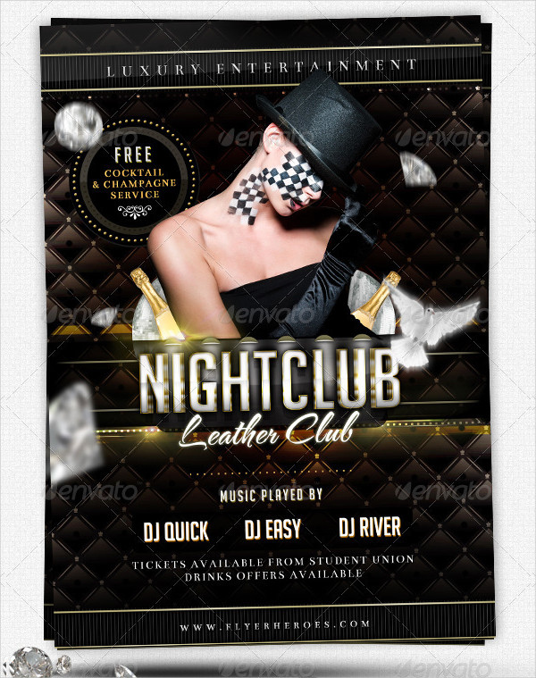 Luxury Nightclub Flyer Template