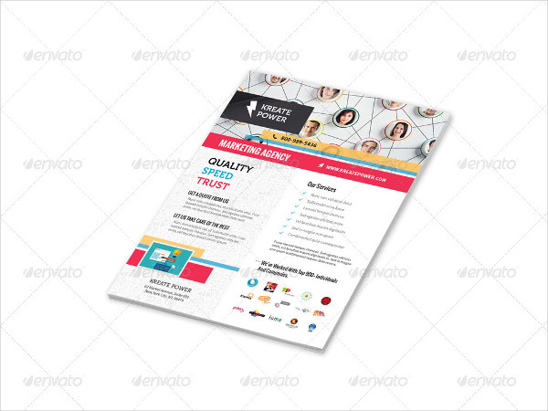 Marketing and Advertising Flyers