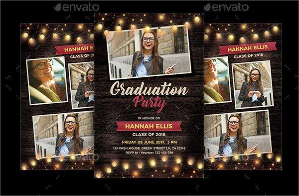 Formal College Graduation Invitations