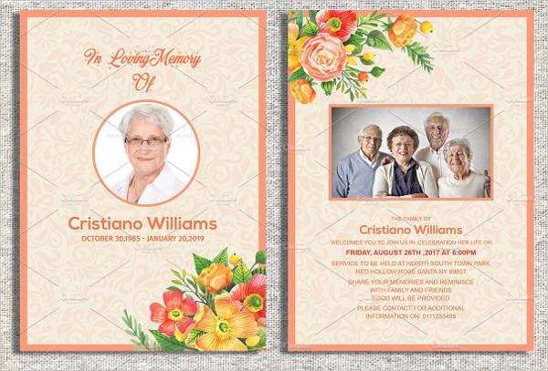 Funeral Invitation Template 17 Free Premium Designs Download