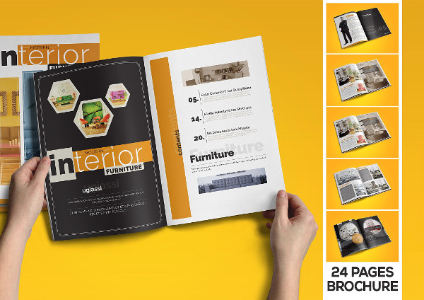 Modern Furniture Catalogue Design