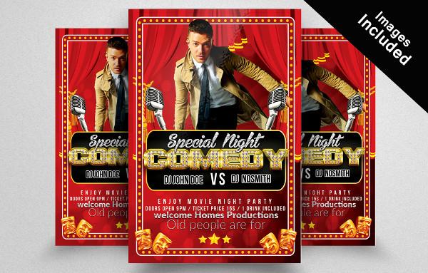 Movie Special Night Flyer