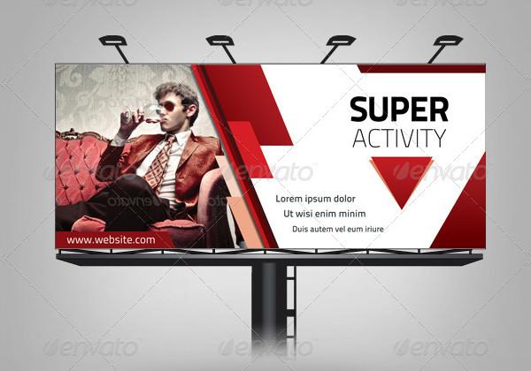 Multipurpose Corporate Billboard Templates