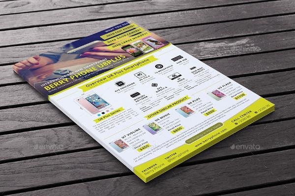 Multipurpose Product Advertisements Flyer