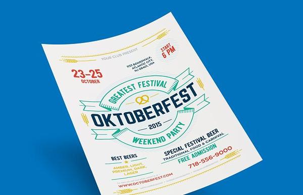 Printable Oktoberfest Festival Poster