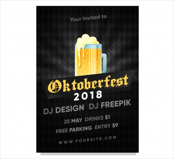 Oktoberfest Poster Free Download